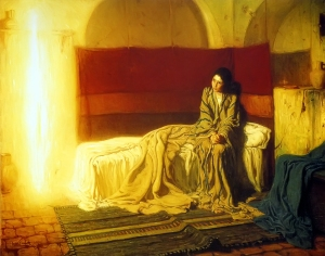 The Annunciation by Henry Ossawa Tanner, 1896