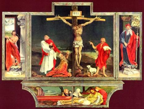 Isenheim altarpiece cross