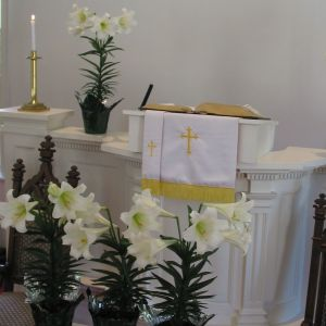 Easter pulpit