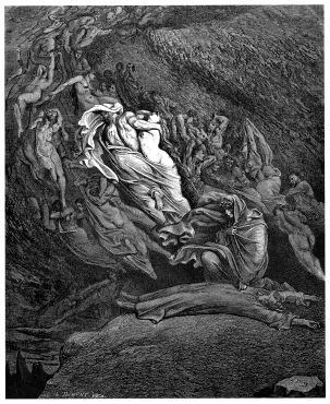 gustave_dore_-_dante_alighieri_-_inferno_-_plate_18_canto_v_-_dante_has_a_touch_of_the_vapours