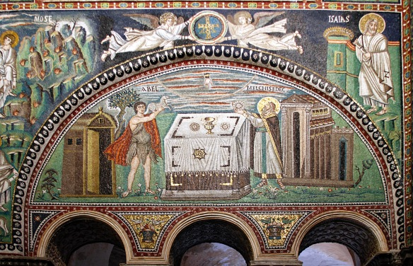 Sacrifice_of_Abel_and_Melchisedek_mosaic_-_San_Vitale_-_Ravenna_2016 (1)